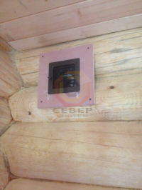 Сборка углового гипсокартонного каминного короба для Jotul i18 и распределение тёплого воздуха по помещениям