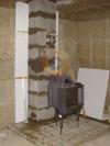 Сборка одноканального дымохода Schiedel Uni 20 с вентканалом для каминной топки Tarnawa
