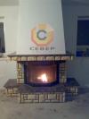 Воздушное отопление дома на базе французского камина Richard Le Droff