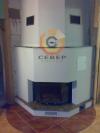Воздушное отопление дома на базе каминной топки Supra