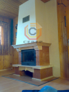 Воздушное отопление дома на базе каминной топки Nordflam Arona