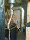Подключение двух отопительных приборов в общий стальной дымоход