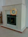 Воздушное отопление дома на базе каминной топки Keddy с порталом