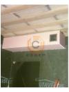 Монтаж каминного короба для топки Jotul i80 Panorama из газобетона и гипсокартона под чистовую отделку