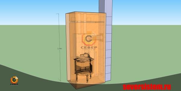 Проектирование камина и дымохода Schiedel